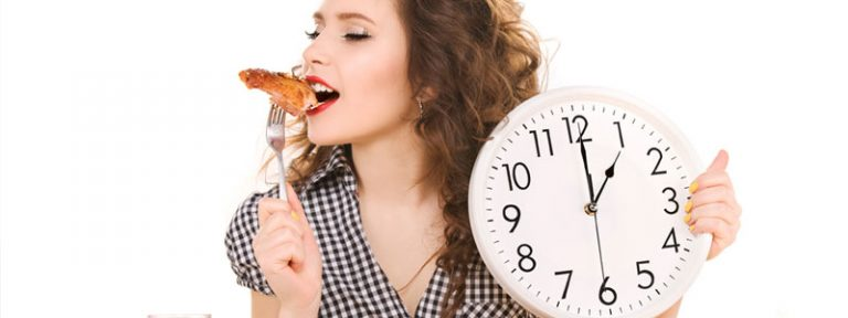 Aprende las horas para comer