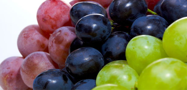 La uva es una fruta alta en azúcar