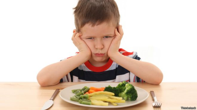 Desordenes alimenticios en niños