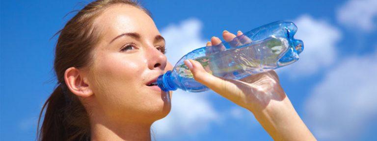 Es importante tomar agua