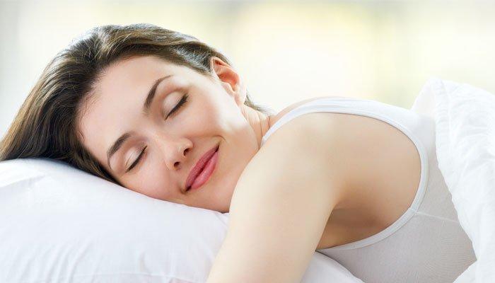 Tienes que dormir bien para bajar de peso