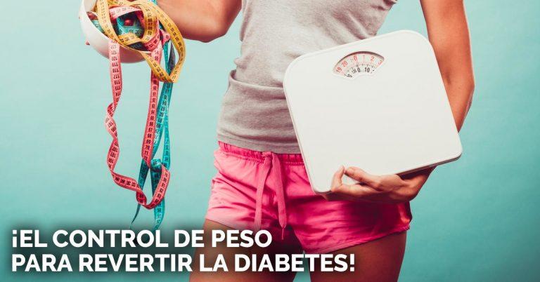 Bajar de peso para la diabetes