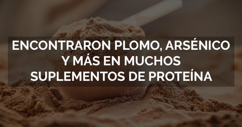 Riesgos de la proteína en polvo