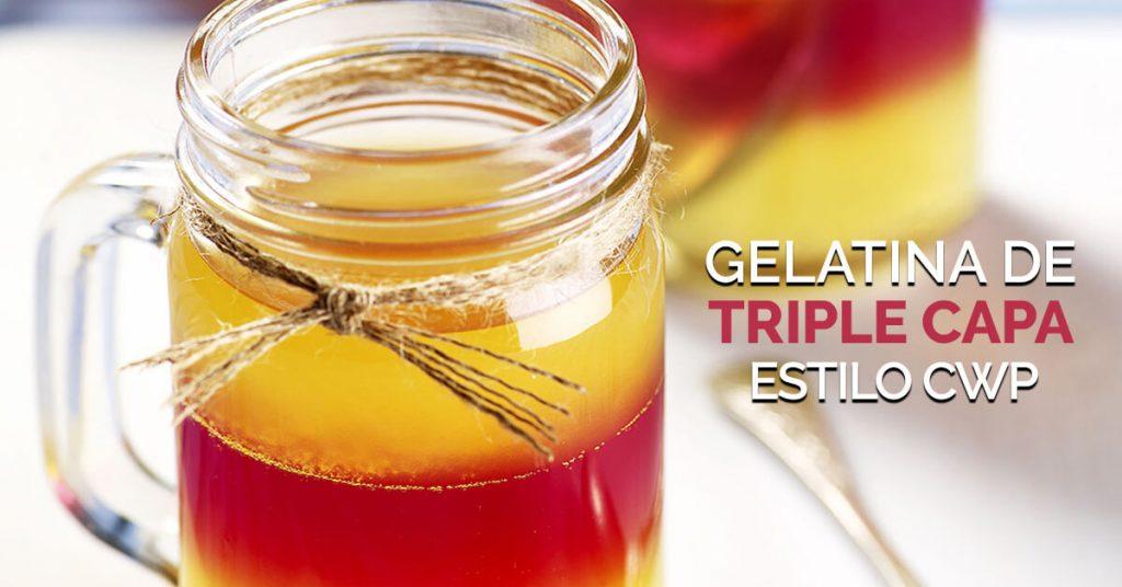 Gelatina saludable