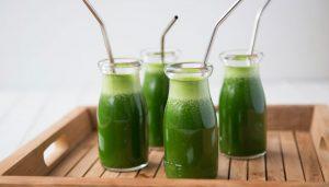 Come cosas verdes antes de hacer ejercicio