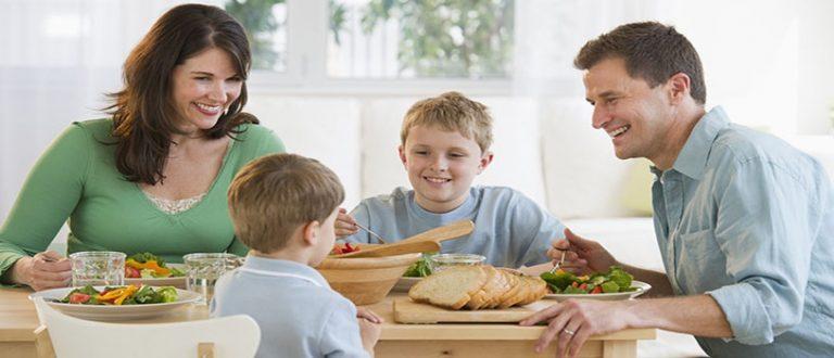 No pierdas el hábito de cenar en familia