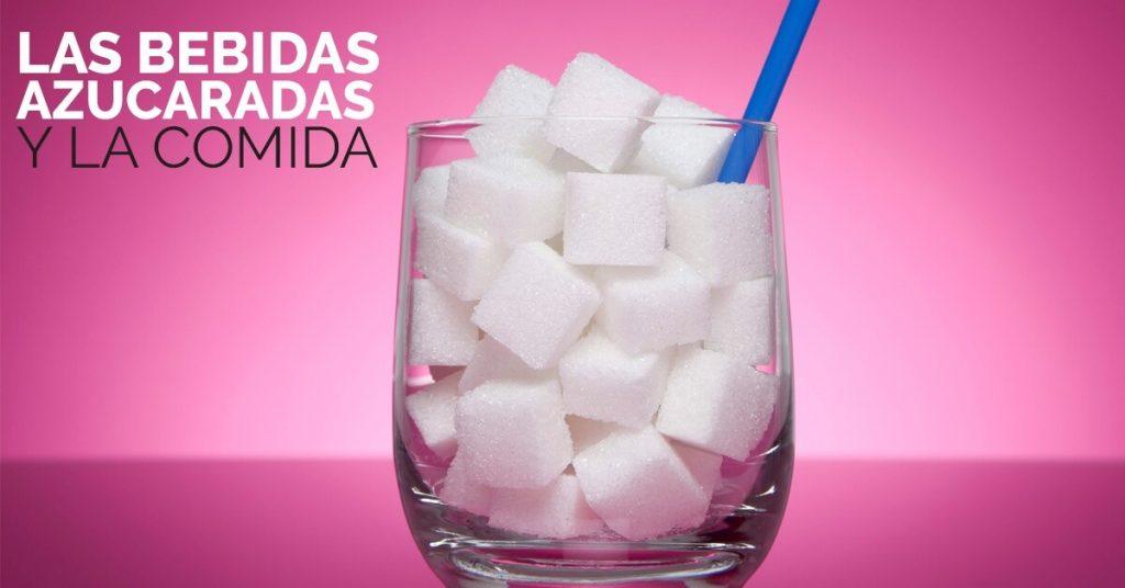 Las bebidas con azúcar