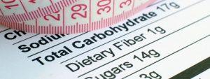 Las calorías y nutrientes