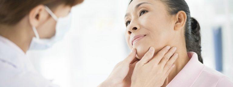 Síntomas de tiroides
