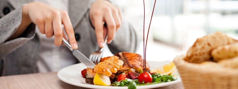 Comer saludable en restaurantes