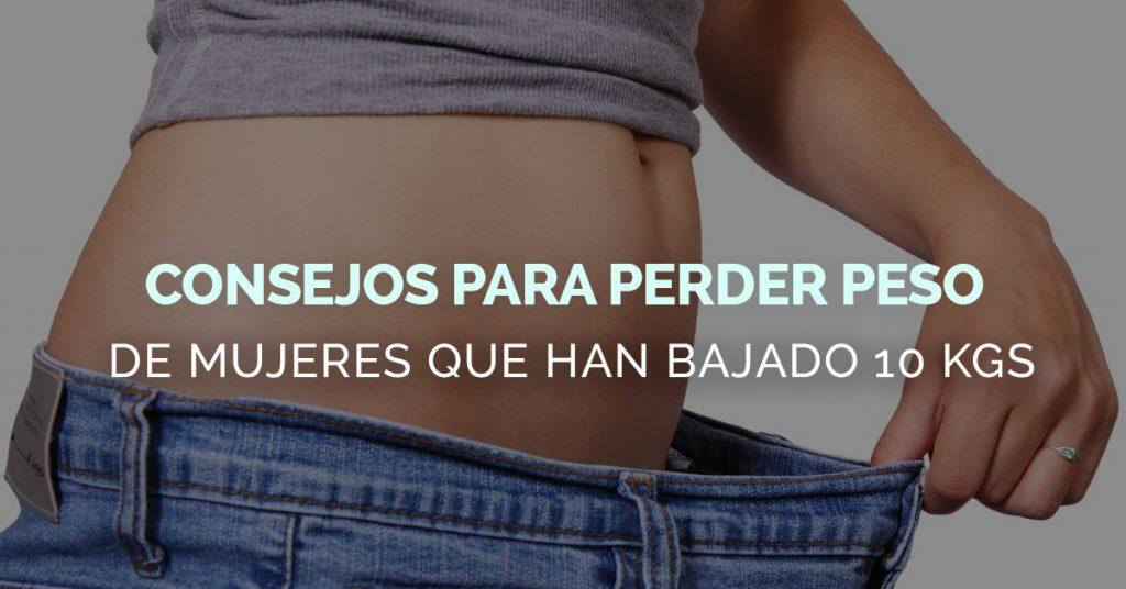 Consejos para perder peso rápido