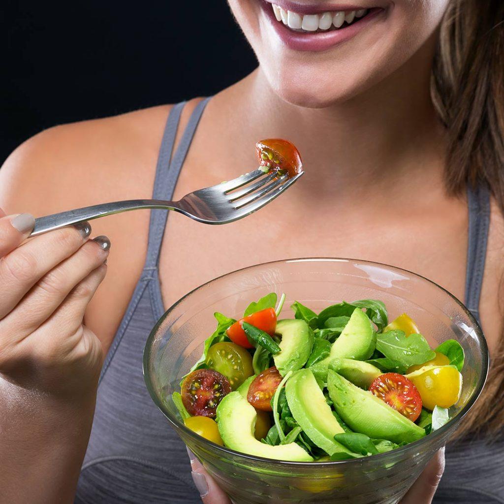 Peso con de alimentacion sana bajar