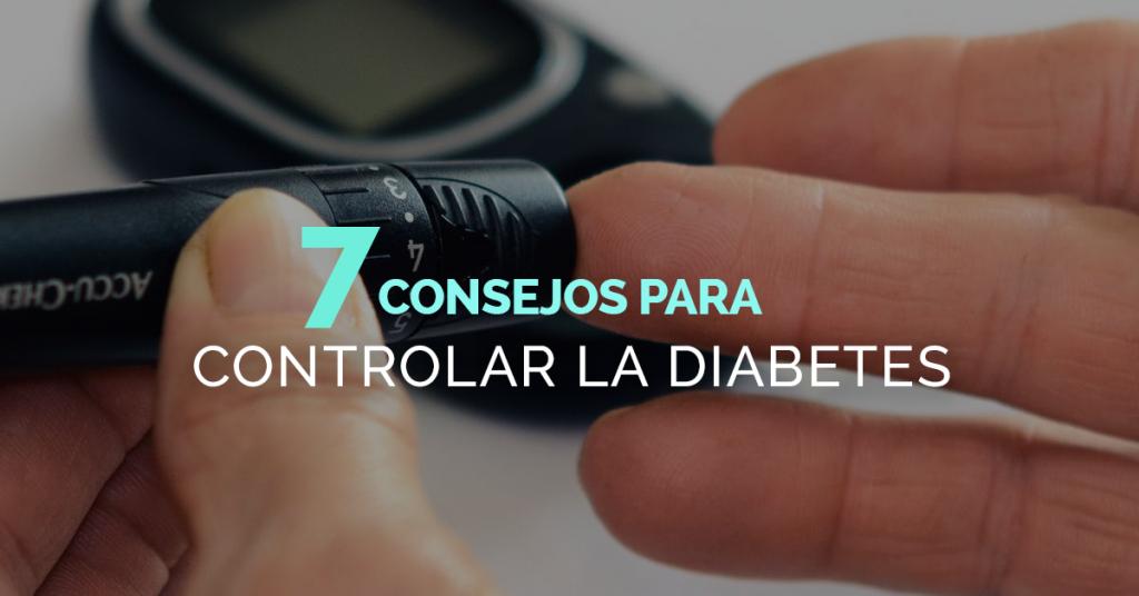 Cómo controlar mi diabetes