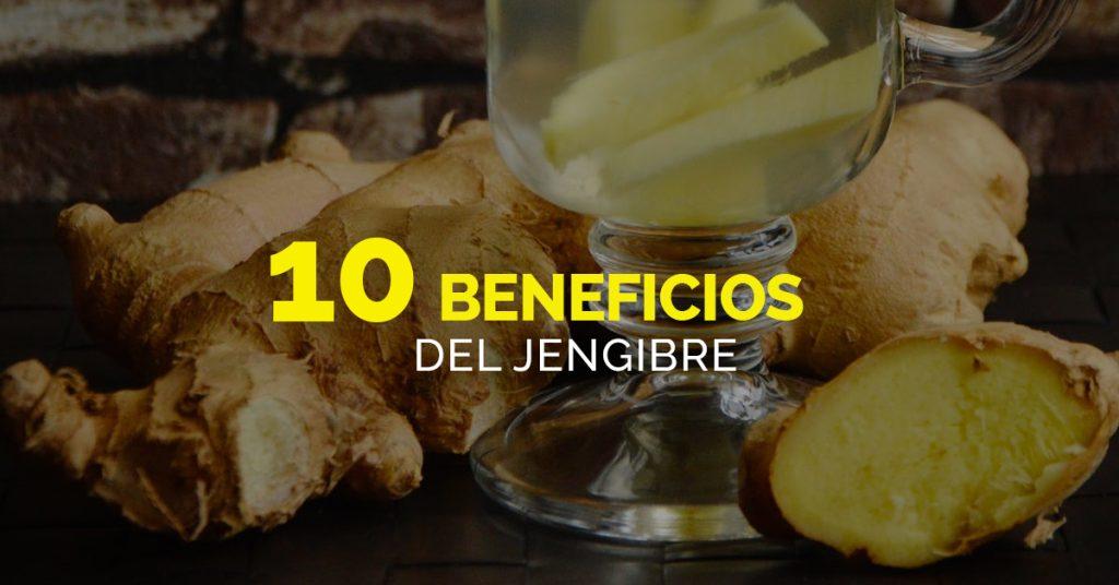 Beneficios del jengibre
